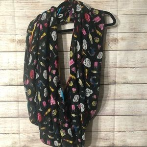 Betsey Johnson Pop Culture Infinity Scarf